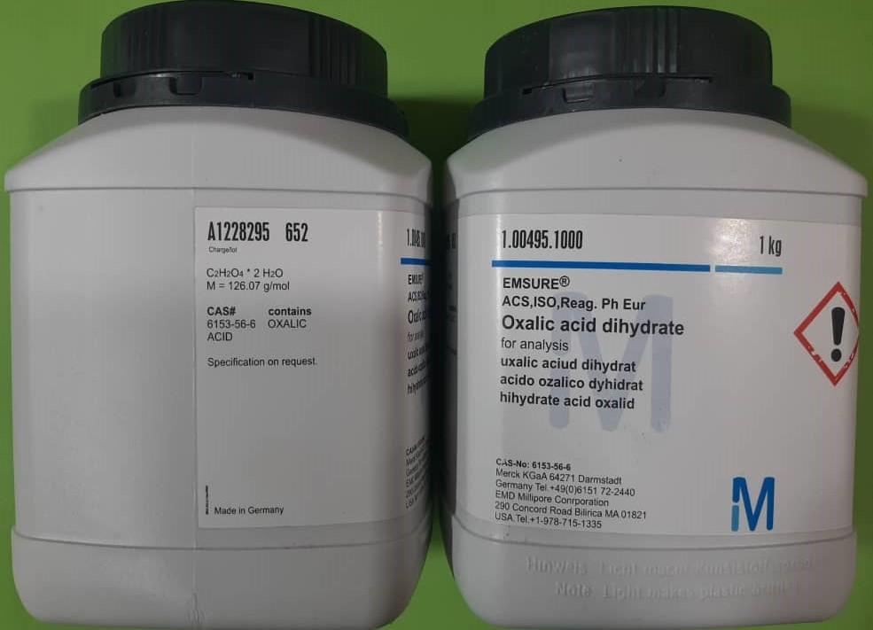 اسید اگزالیک Oxalic acid